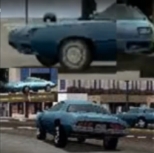 Various Shots Of The 'Firebird' From Various Parts Of The Chicago Gameplay Trailer - Vehicle Was Apparently Completely Cut From The Game Likely Due To Copyright.png