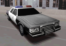A Shot Of The Front Of The PAL Vegas Cruiser In ReDriver 2 - Notice The Front Windshield Has No Detailing And Appears As Simply A Black Trapezoid.png