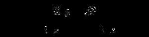 Strukturformel von Amphetamin