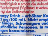 Kennzeichnungspflicht von koffeinhaltigen Getränken in Deutschland