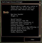 Earthen Dragon Gloves
