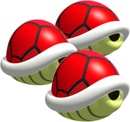 Triple Red Shell - Mario Kart DS