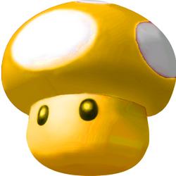 Golden Mushroom - Mario Kart 64.png
