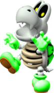 Green Dry Bones - Super Koopa 64