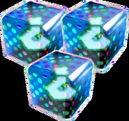 Triple Blue Fake Item Box