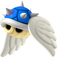 Flying Blue Shell - Mario Kart Wii