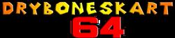 Dry Bones Kart 64 Logo.png