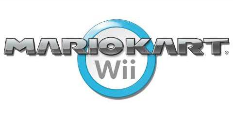 Main Menu - Course Select - Dry Bones Kart Wii Music Extended