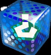 Blue Fake Item Box - Mario Kart 7