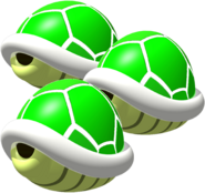 Triple Green Shell - Mario Kart 64