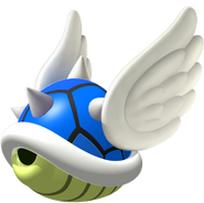 Blue Spiny Shell - Mario Kart DS