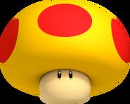 Mega Mushroom - Mario Kart 7