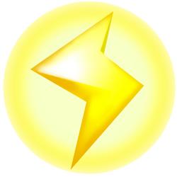 Lightning Bolt - Mario Kart Wii.png