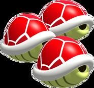 Triple Red Shell - Mario Kart 64