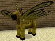 Yellow fairy horse