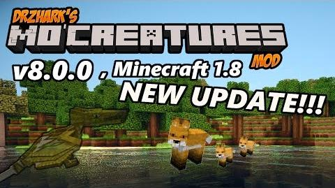 NEW MINECRAFT MO' CREATURES 1.8 (v8.0