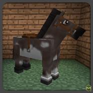 Grulla overo horse