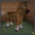 Palomino snowflake horse