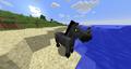 Grey glitch horse