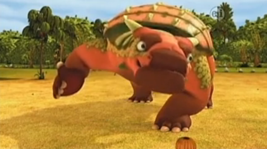Armored Like an Ankylosaurus