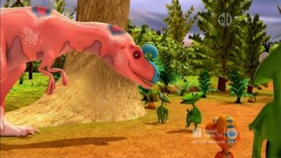 King Cryolophosaurus