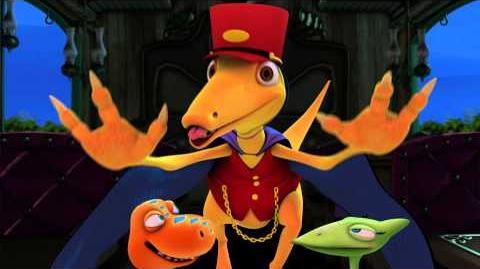 Dinosaur Train Halloween Promo