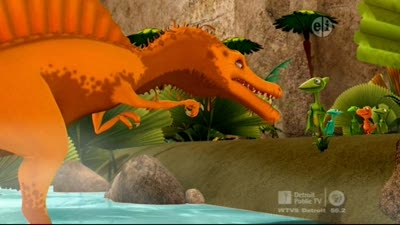 The Old Spinosaurus and the Sea
