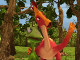 Larry Lambeosaurus
