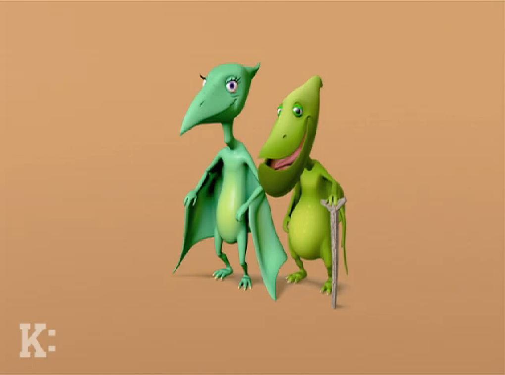 Grandma & Grandpa Pteranodon