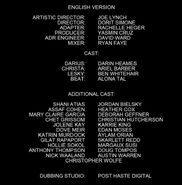 Ad Vitam Episode 1 Credits