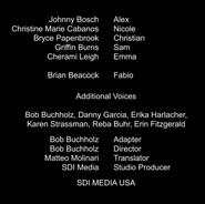Alex & Co. dubbing credits (s3 ep1)