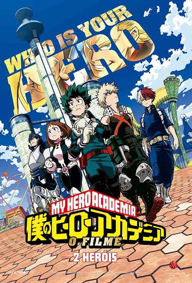 My Hero Academia: Dois Herois