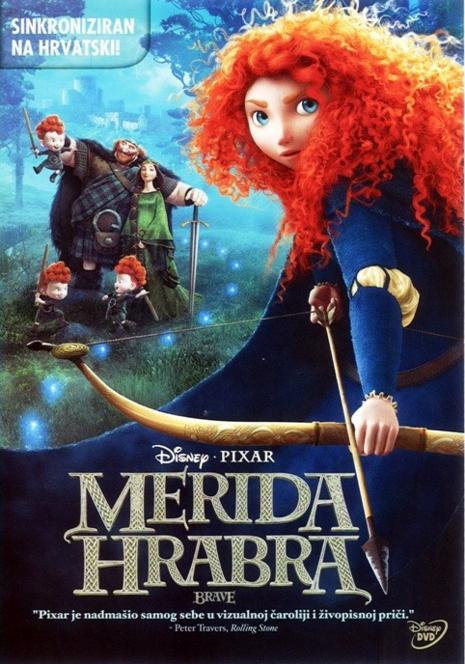 Merida hrabra