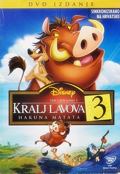 Kralj lavova 3: Hakuna Matata