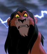 Scar in The Lion King