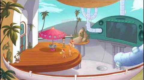 Duch i Nas Dwóch - Problemy z Basenem. Oglądaj w Disney XD!