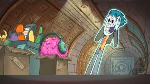 Duch i nas dwóch - Śmieciozgniatarka. Oglądaj w Disney XD!