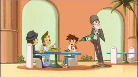 Duch i Nas Dwóch - Sprawdzian Semestralny. Oglądaj w Disney XD!