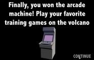 Arcade screen