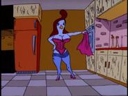Honey reveals her lingerie