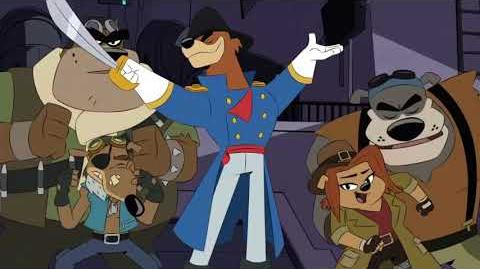 DuckTales - The Fearful Pirate Don Karnage SONG