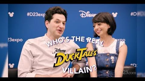 Who's the Real DuckTales Villain? with the Cast of DuckTales