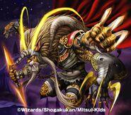 Storm Wrangler, the Furious DMC-13 artwork