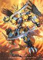 Balga Do Raiba, Matchless Dragon Phantom artwork