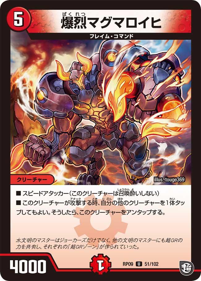 Magmaloihi, Explosion