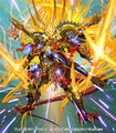 Crimson GENJI Double Cross, the Swordmaster Awakened artwork