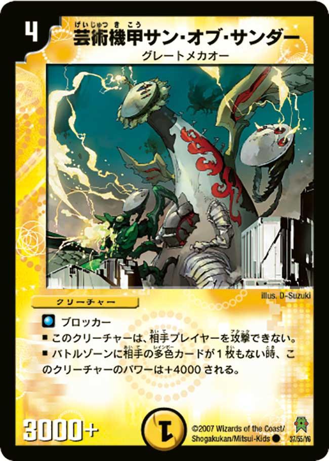 Sun of Thunder, Artistic Armor