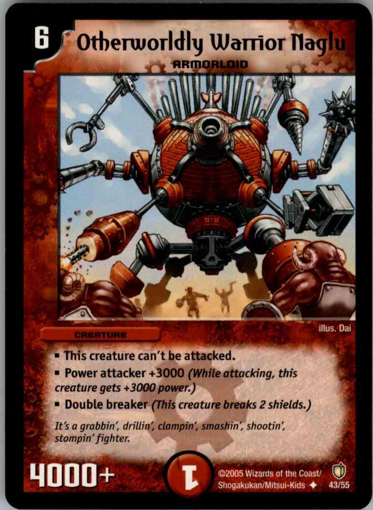Otherworldly Warrior Naglu
