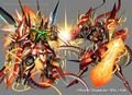 Last Storm Double Cross, the Super Awakened & Gaial Kaiser artwork