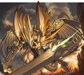 Mirror Force Dragon artwork